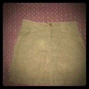 Lands's end brown skirt size 12